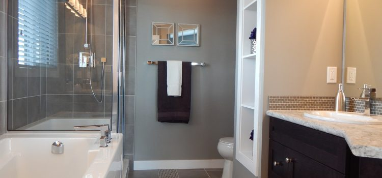 Une salle de bain hyper tendance
