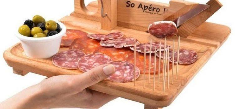 La guillotine à saucisson : l'outil indispensable pour une soirée entre amis réussie